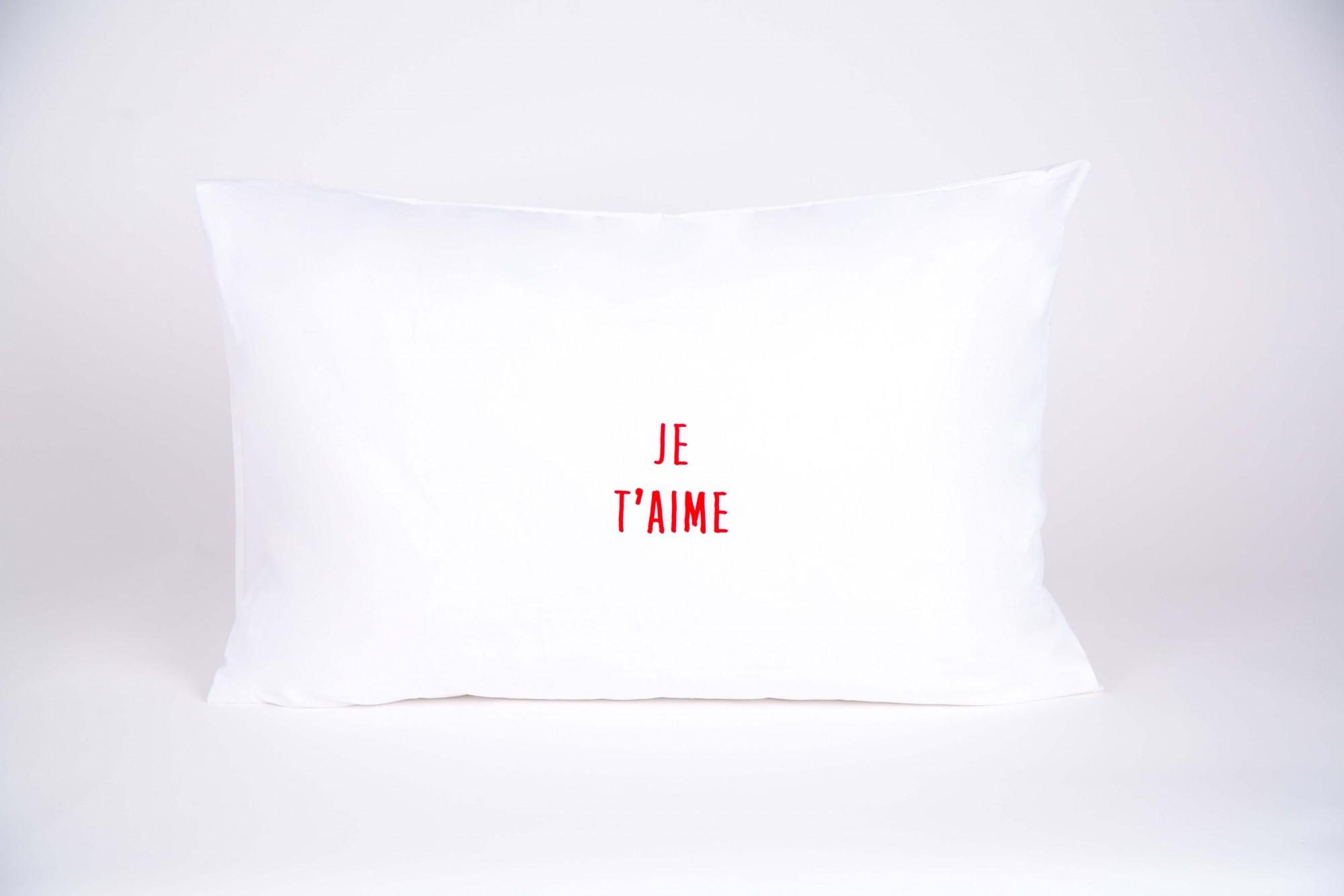 "זוג צפיות ""JE T'AIM"" אדום"