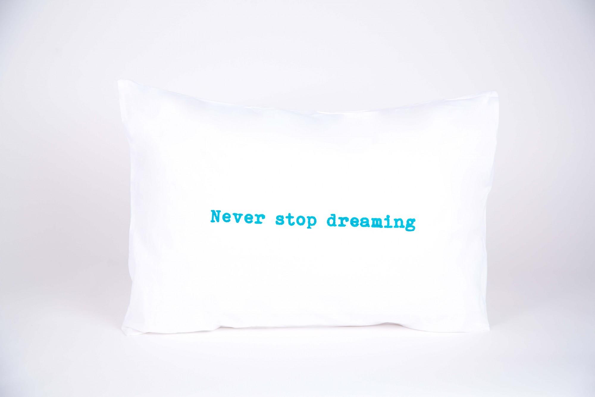"זוג צפיות ""never stop dreaming"" טורקיז"