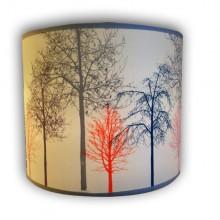 אהיל תקרה מודפס עצים