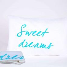 """זוג ציפיות """"Sweet dreams"""" טורקיז"""