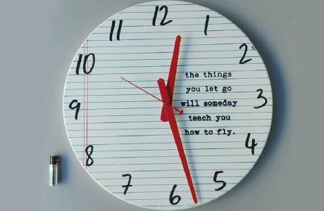 שעון עגול fly