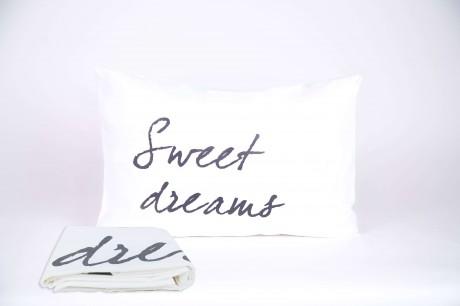 """זוג ציפיות """"sweet dreams"""" אפור"""