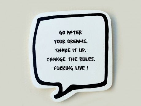 ...GO AFTER YOUR DREAMS
