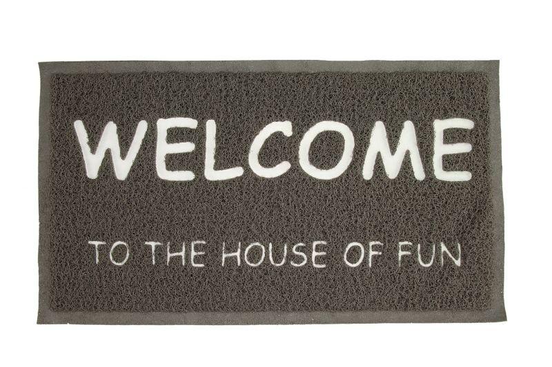 שטיח כניסה עם חיוך:)
